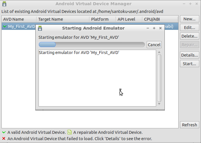 HOWTO get started with Android SDK in Santoku Linux